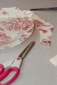 DIY Customized Glass Plates