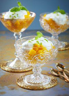 Limettiset mangomaljat | K-ruoka #uusivuosi