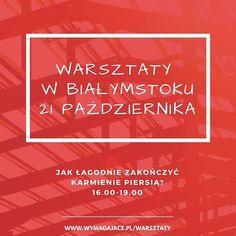 W sobotę jadę na warsztaty do Białegostoku - jeszcze można dołączyć do grupy i porozmawiać o od stawianiu dziecka od piersi w łagodny i stopniowy sposób. Link w bio #wymagajace #warsztaty #białystok #bialystok #instamama #instababy #breastfeeding #karmieniepiersią