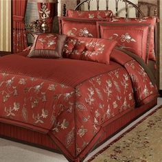 Sinclair Embroidered Comforter Bedding