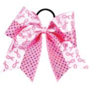 GTM Breast Cancer Awareness Bow! #cheer #cheerbows #thinkpink
