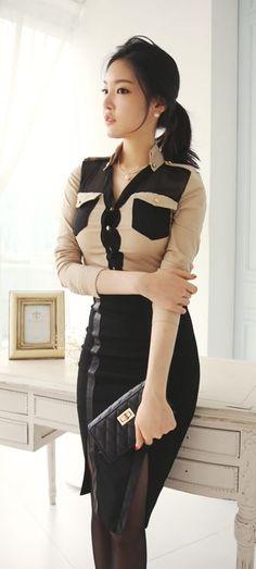 Luxe Asian Women Design Korean Model Fashion Style – Amazing On The Eath