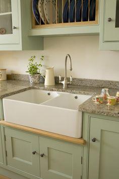 Sage and Cream Kitchen - The Bristol Kitchen Company
