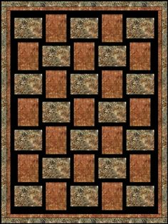 SEW FAST DOWNLOADABLE 3 YD QUILT PATTERN - I don't have this one yet.