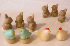 Marzipan Easter sweets