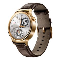 Huawei announced its new Android Wear luxury smartwatch.