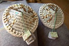 Crafts for the booklover to buy or make. And, yes, those are literary pasties with book tassels.