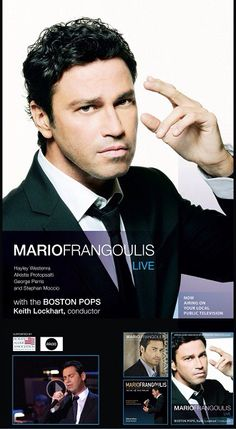 Mario Frangoulis Live with the Boston Pops video