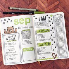 September dashboard all set! #planwithmechallenge #spreademwidesunday…