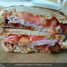 What's cooking in the burbs: Turkey Bacon Ranch Club Melts