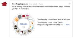 We're building a Google + circle of our favourite top 50 home improvement pages. Who make it into yours? Bathroom Shop, Big Bathrooms, Uk Homes, Home Trends, Home Improvement, Ads, Store, Building, Google