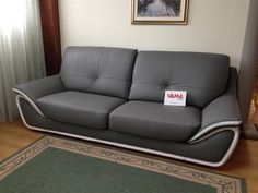 #Dark #Borabora #Leather #Sofa € 1300 #Offer