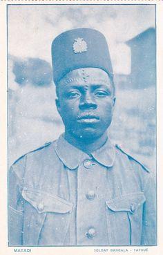 CONGO; Matadi , Soldat Bangala - Tatoue, 00-10s