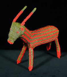 South African Beaded Animal
