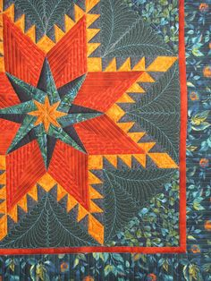 Feathered Star, quilting by Jan Hutchison | The Secret Life of Mrs. Meatloaf: November 2013