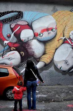 #so65 #street art artist: ZED1 location: via Watteau 7 - Milano