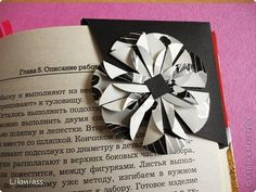 Bookmark, Workshop Origami Origami circles Pergamano: small pleasures of life and small MC Paper April 1, Feb. 23, March 8 birthday.  Photo 13