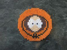 Perler Kenny Face from South Park by rushtalion.deviantart.com on @deviantART