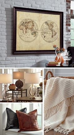 Barloew Wall Art   Ashley Furniture     Home Furniture And Accessories    Accents