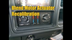 Blend Door Actuator Replacement 19992007 Chevrolet