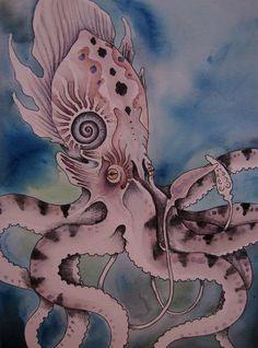 purple kraken by *verreaux