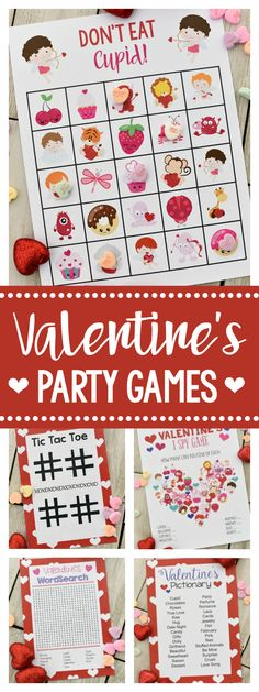 Valentine Party Games for Kids