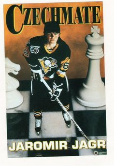 Jaromir Jagr.  Design by the Costacos Brothers.