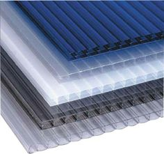 -POLYCARBONATE PANELS    -I chose this because the blind can feel the texture of the panel and light passes through this material in a unique way.
