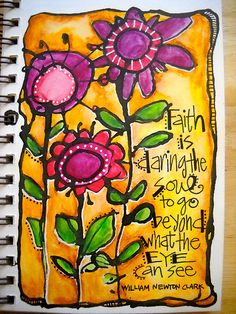 Faith is quotes dessin journal, art recyclé, art journal pages. Art Journal Pages, Art Journals, Journal Quotes, Artist Journal, Kunstjournal Inspiration, Art Journal Inspiration, Teacher Inspiration, Scripture Art, Bible Art