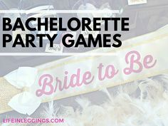 Try these easy to order and DIY games and activities at your next bachelorette party!