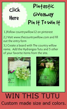 Visit http://www.thecountrywillow.com/the-willow-whispers/pin-it-to-win-it-contest for all the details.