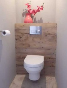 Is your home in need of a bathroom remodel? Here are Amazing Small Bathroom Remodel Design, Ideas And Tips To Make a Better. Guest Toilet, Downstairs Toilet, Small Toilet, Bad Inspiration, Bathroom Inspiration, Home Decor Inspiration, Decor Ideas, Bathroom Layout, Modern Bathroom