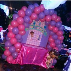 Doc Mcstuffins Doctor Mcstuffins Party Ideas, Doc Mcstuffins Birthday Party, 4th Birthday Parties, Birthday Party Decorations, 3rd Birthday, Birthday Ideas, Bday Girl, Little Girl Birthday, Daisy Duck Party