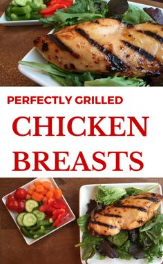 This is the perfect meal when grilling for a crowd or when you want to make some extra chicken for a busy week ahead [use as a salad topper, shred for chicken sandwiches, etc.] @MomNutrition