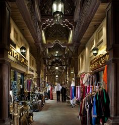 Souk Madinat Jumeirah - Interior Shopping Single Walkway