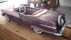1956 Pontiac Pedal Car Maintenance/restoration of old/vintage vehicles: the material for new cogs/casters/gears/pads could be cast polyamide which I (Cast polyamide) can produce. My contact: tatjana.alic@windowslive.com