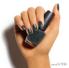 Are you a fan of neutral nails? Well you'll want to live in this shade! #LivInTheGray