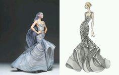 Just love! #Illustration #FashionRender #Broughttolife #fashiondesign
