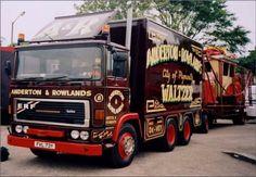 Towing Vehicle, Fun Fair, Generators, Caravans, Transportation, Automobile, Photographs, British, Trucks