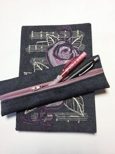 diary and pencil case