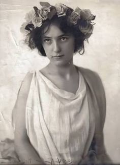 Maybe I'm not a hippie. Maybe I'm channeling Evelyn Nesbit.