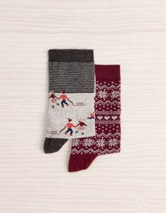 Pack Socken mit Multiprint - Socken - Accessoires - Deutschland I want christmas/winter themed socks :P