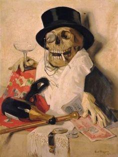 Meegeren, Han van (b,1889)- Good Times & Death -2b
