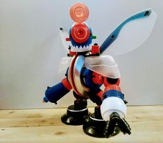 Recycled Robot, Arte Robot, Robots, Minions, Crafts For Kids, Recycling, Diy Projects, Plastic, Toys
