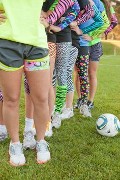 Spandees spandex arm warmers, shorts & capris