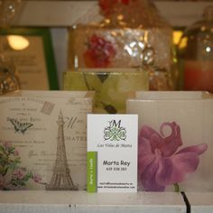 "Velas de ""Las velas de Marta"" en POP UP Chic"