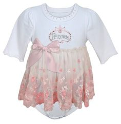 03c7823f657 Stephan Baby Angels in Lace Pink Princess All-in-one Lace Trimmed Diaper  Cover