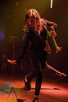 Christine and the Queens performing at The Mod Club in Toronto on July 30, 2015. (Photo: Theo Rallis/Aesthetic Magazine)