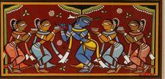 jamini roy paintings - Google Search