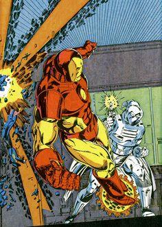 Iron Man & Moon Knight - Bob Layton